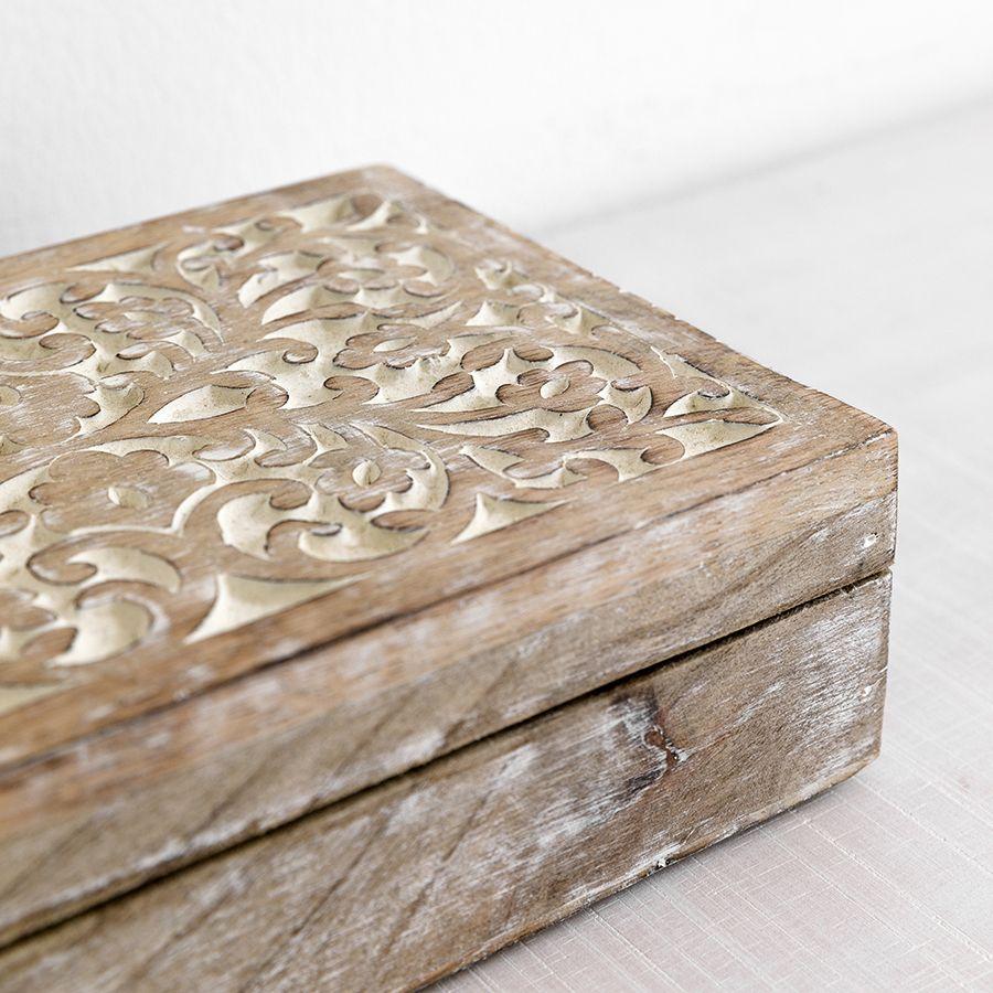 Scatola legno invecchiato
