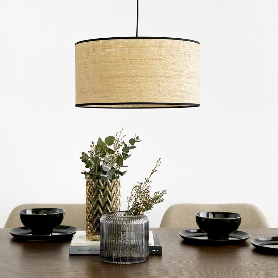 Lombok lampadario nero