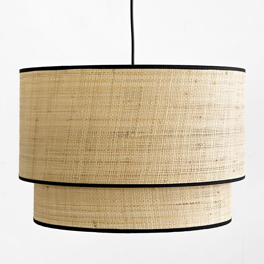 Lombok lampadario doppio nero