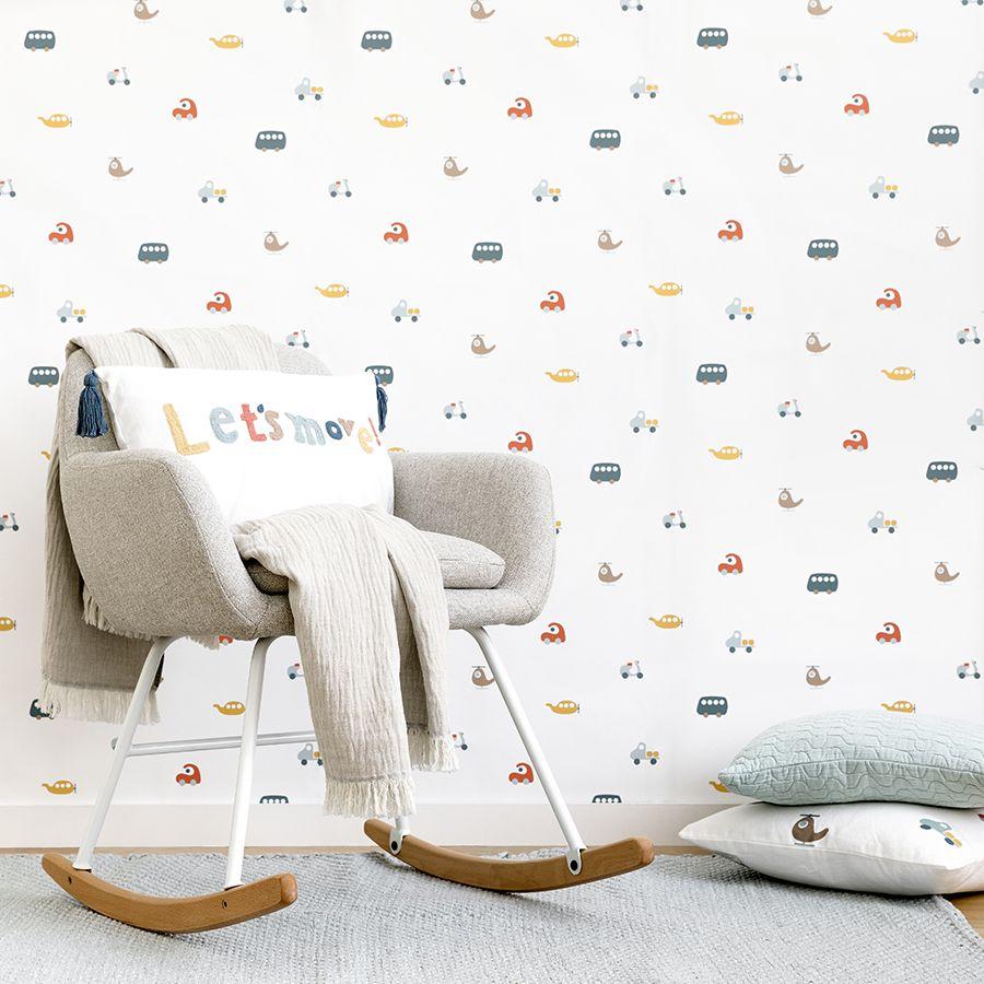 Move wallpaper