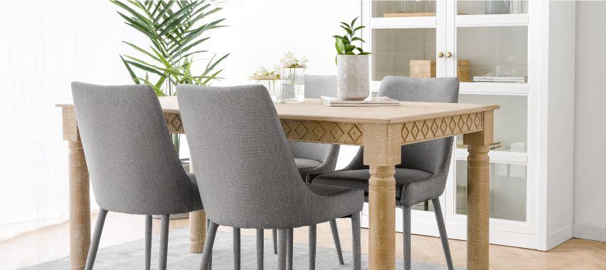 Cria a tua sala de jantar ideal
